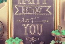 Chalkboard / by Kellie of Le Zoe Musings
