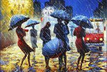 Радуга дождя
