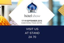 The Hotel Show 2016 - Dubai / The Hotel Show - 17-19 September - Come to visit Segis in Dubai (World Trade Center) at Stand 2A 70. With us hundreds of global suppliers and 1000s of key decision makers from the hotel, restaurant, cafe and foodservice industry.