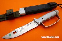 Cuchillos - Knives / Catálogo de cuchillos que tenemos o hemos tenido en Filofiel Cuchillería.