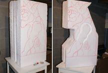 Styro foam art