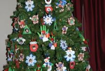 Foster child Christmas tree / If you have had alot of foster children...you can easily put together ornaments with their pictures. You can decorate your home with them or make a special tree.