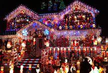 Déco Noël maisons rues