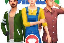 Sims packs fan