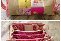 Sew Together Bag tutorial.