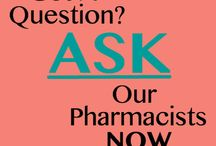 Ask Our Pharmacists! / Any health question you have, you can anonymously ask our pharmacist and they'll answer them here: http://www.rxwiki.com/askrx/questions?utm_source=Website&utm_medium=DTC-Pinterest-RxWiki&utm_campaign=ASKboard