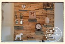 Triomf Wand decoratie