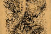 Samurai Dragon