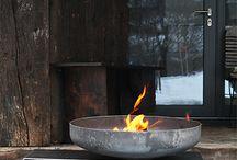 Feuer Schalen