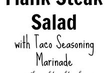 Salads to Try / A collection of salad recipes that we need to try!