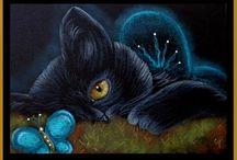 Кошки.Арт