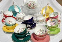 Vintage English tea sets