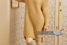 вязание спицами схемы платья