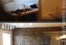 Home Makeovers / Amazing transformations in the home. Both large and small scale changes, that are inspirational. DIY home ideas.