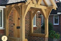 Oak porches / Beautiful traditional oak framed porches