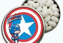 Festa de Alisson - Capitão America