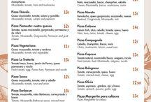 La Trattoria / Restaurante de auténtica cocina italiana a la carta, menú diario y pizza para llevar.