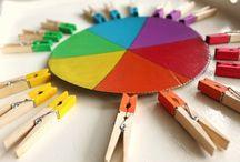 activité sensorielle couleur
