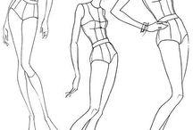 bocetos moda