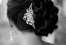 Wedding hair & head gear