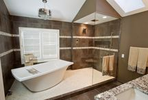Bathroom Projects by DC Interiors & Renovations / This board contains our bathroom remodeling projects.