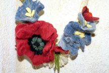 Primavara / Felting flower