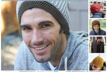 Crochet. Hats & Scarves for Men