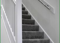 Straight Staircase / The most basic type of staircase is a straight flight