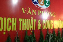 Công ty dịch thuật A2Z / Công ty dịch thuật A2Z chuyên dịch thuật các ngôn ngữ theo từng chuyên nghành và lĩnh vực sang tiếng Việt và ngược lại. Nhanh chóng, chính xác, tiết kiệm thời gian và chi phí