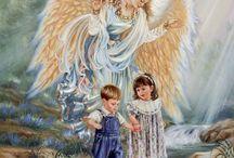 Őrangyalok Kedves testvéreink kik vigyáznak ránk szerettel / Szent Őrangyalok igazságos szeretete tényleg öröm.
