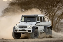 G 63 AMG 6x6 show vehicle: / The Mercedes-Benz G 63 AMG 6x6 near-series show vehicle brings together the best of three worlds.