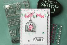 May New 2017 Release / On this board you'll find our new May Stamps, Dies, Ink Pad and Gumdrops along with inspirational projects using all the new products.