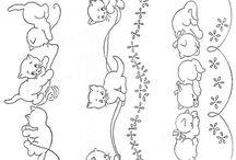 posliinimaalaus kissoja