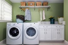DIY Laundry Room / Are you frustrated with your laundry room? Do you find yourself wanting more control and ease of use? Browse this board for DIY laundry room suggestions and more! #diylaundryroom