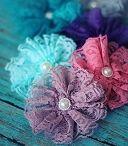 Flor tecido