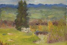 Paintings / Plein air paintings