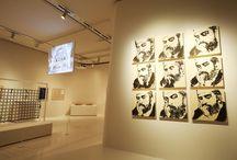 exhibition and studio
