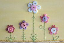 fiori di bottoni