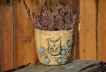 moje keramika Lavender