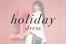 Holiday Dress / Be inspired by our favorite #fullbeauty plus size holiday dress! Are you ready for the winter yet?