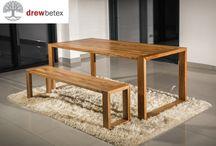 Drewbetex furniture walnut live edge.
