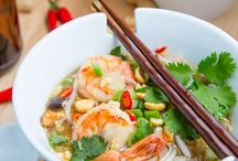 food: asian / by Audrey Walker