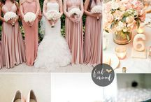 Summer Palettes / Summer Weddings, colours and styles