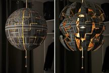Couple Turns Their Boring IKEA Lamp Into A Cool Exploding Death Star
