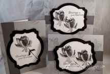 """Stamp:Lotus Blossom / Handmade cards featuring the stamp set """"Lotus Blossom"""" by Stampin' Up."""