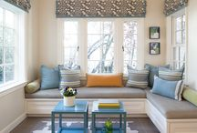 we designed: rooms to live in / open spaces, indoor-outdoor living, color, approachable family-friendly design