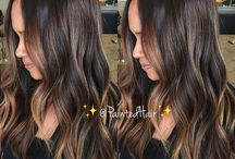 rozjaśniane włosy