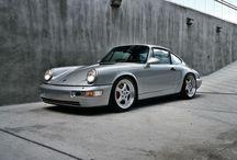 Porsche 964 silber
