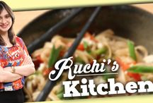 Ruchi's Kitchen / Chef Ruchi Bharani vouches on factors like - Simplicity, feeling of homeliness, tastes and flavours. So here at ‪#‎RuchisKitchen‬, chef Ruchi Bharani brings you some easy and tasty vegetarian recipes from across various cuisines. So don't forget to catch Ruchi's Kitchen every Monday and Friday only on Rajshri Food. / by Rajshri Food