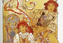 Alphonse Mucha - Art Nouveau Master